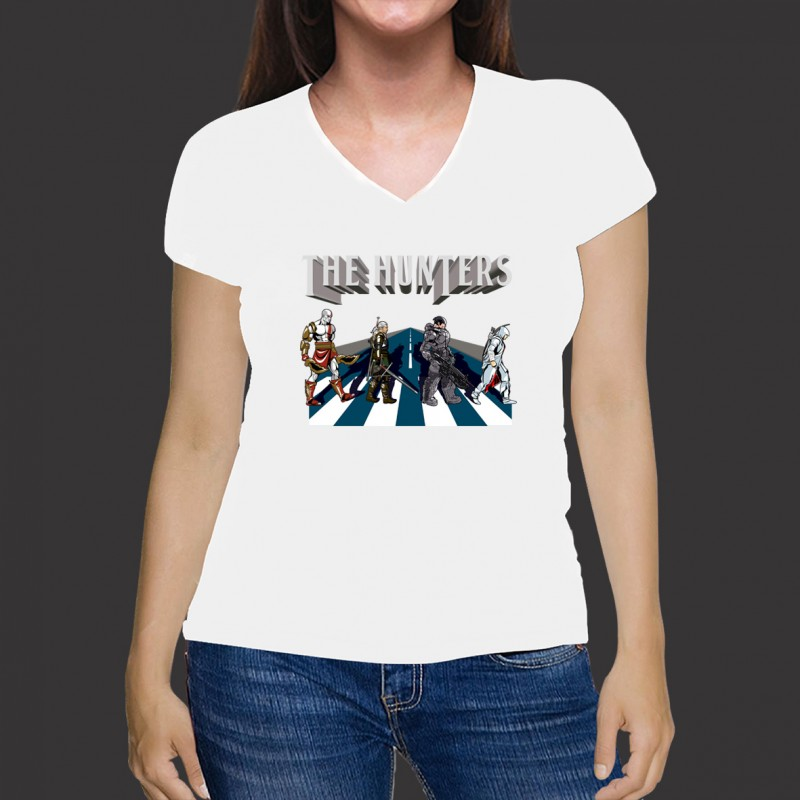 Camiseta Game Abbey Road - Malha Fria Branca