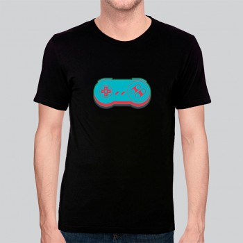 Camiseta Game Exclusiva Joystick 1 - Algodão