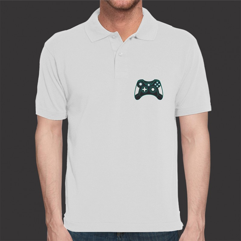 Camiseta Game Exclusiva Tron Joystick - Polo