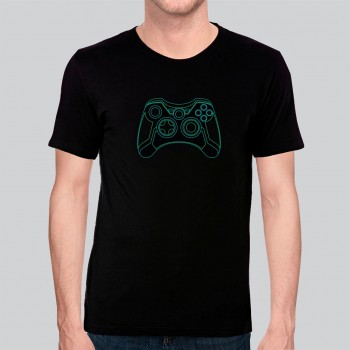 Camiseta Game Exclusiva Tron Joystick - Algodão