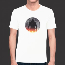 Camiseta Game Exclusiva The Witcher - Malha Fria Branca