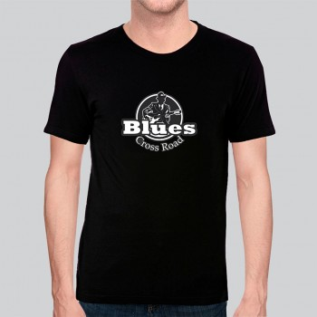 Camiseta Blues Exclusiva Cross Road Robert Johnson  - Algodão