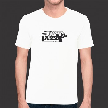 Camiseta Jazz Exclusiva - Malha Fria Branca