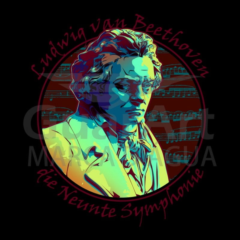 Camiseta Beethoven Exclusiva Música Clássica - Polo