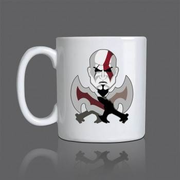 Caneca Game God of War Exclusiva - Cerâmica