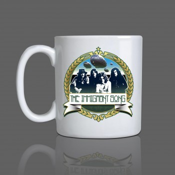 Caneca Led Zeppelin Exclusiva Immigrant Song Música - Cerâmica
